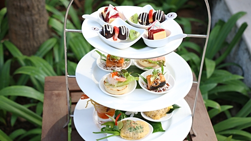 Afternoon tea, Dalah Restaurant
